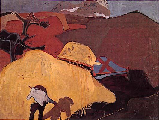 Pintura: Juan Barjola