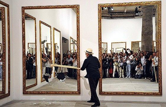 Resultado de imagen de obras de michelangelo pistoletto