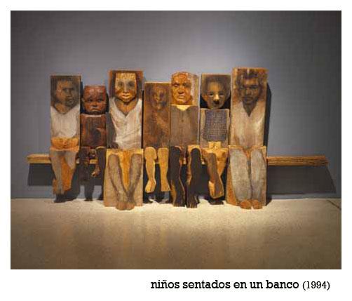 MARISOL ESCOBAR (1930) / EN LA ESPERA (1/4)