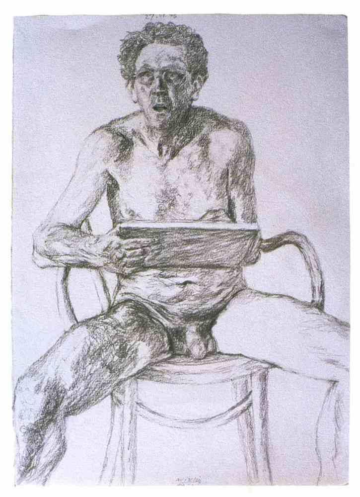 AVIGDOR ARIKHA (1929) / SI ATISBO LUCES EN LA CARNE ES SUFICIENTE (3/6)