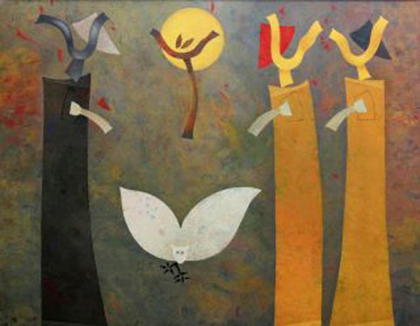orlando-sobalvarro-los-reyes-magos-con-buho-_pintores-latinoamericanos-juan-carlos-boveri