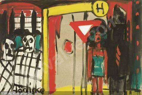 hodicke-karl-horst-1938-german-haltestelle-2188646