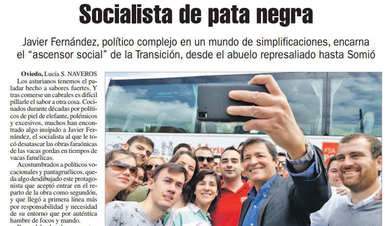 De cómo Javier Fernández intentó pasar a limpio su fortuna en La Nueva Españadominical
