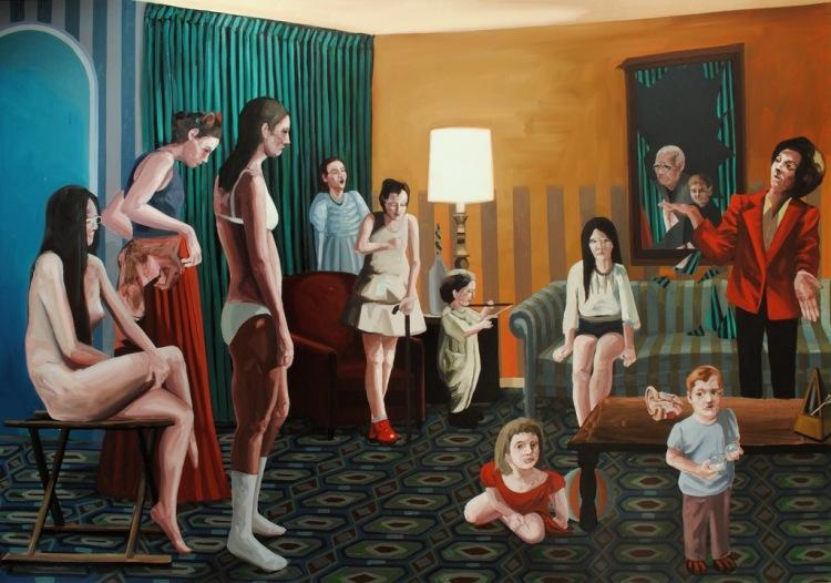 Ivana-de-Vivanco_Girls-Choir_Oil-on-canvas-275x190-cm_201211-1024x7191