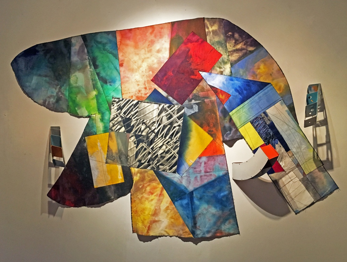 Sam-Gilliam-71-X-98-X-10-Mixed-media-on-canvas-Aluminum-1994