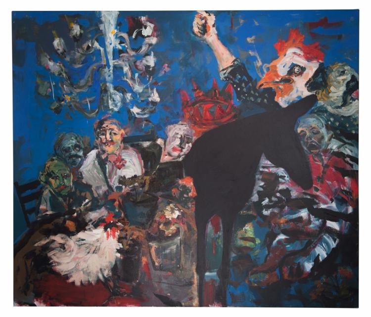 Sara_Issakharian_oil_acrylic_canvas_188_x_160cm