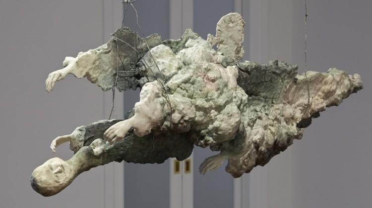 Enrico-David-Untitled-view-2-2014-Celotex-expanding-foam-fibre-tissue-jesmonite-pigment-wire-c
